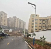 Changsha City Solar Street Light Project